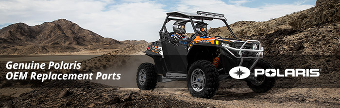 Genuine OEM Polaris Parts for your Ranger, RZR, Sportsman, Outlaw, ATV, XP, Scrambler, Trail Boss, Trail Blazer and more