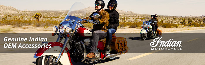 Genuine OEM Indian Motorcycle Apparel and Gear